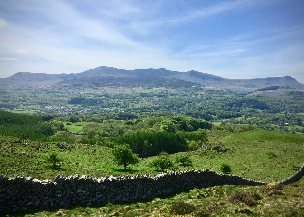 Cadair Idris from Precipice Walk