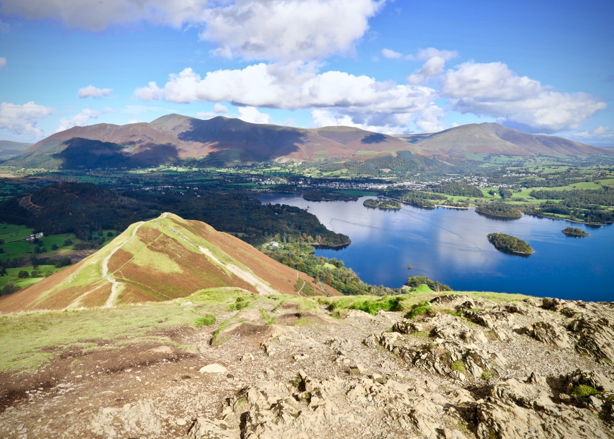Derwent Water & Keswick from Cat Bells