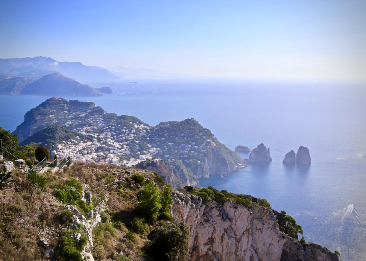 Amalfi Coast & Capri from Anacapri